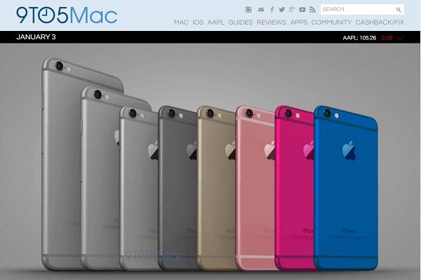 iPhone6sより一回り小さい4インチのiPhone6cが発売されるとの噂。このスペックなら価格次第で購入したいかも